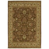International First Lady Empress Garden Washington Brown Rug