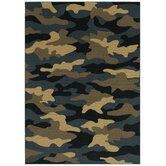 Young Attitudes Urban Jungle Locker Room Kids Rug