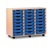 24 Tray Mobile Storage Unit