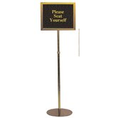 Pedestal Signframes (With or Without Sign Packs)