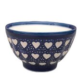 Love Hearts 13.97cm Hand-Decorated French Bowl