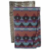 Painted Desert Chinchilla Throw