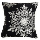 Holiday Elegance Snowflake II Pillow