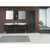 "Kasha 71"" Double Bathroom Vanity"
