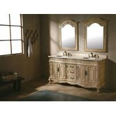 Hana 72&quot; Double Bathroom Vanity