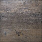 "Home Design 6"" X 36"" Luxury Vinyl Plank in Burnished Oak"