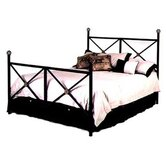 Neoclassic Wrought Iron Bed