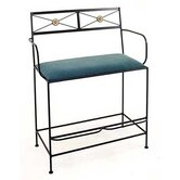 Neoclassic Spectator Metal Bench