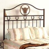 Frontier Wrought Iron Headboard