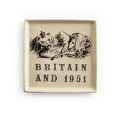 Voyage Britain and 1951 Square Serving Tray