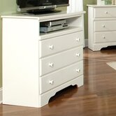 Outer Banks 3 Drawer Media Chest