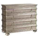 Ivory Coast 4 Drawer Hall Dresser