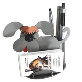 Desk Accessory Dog Business Card Holder