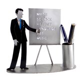 Desk Accessory Male Teacher Pen Holder