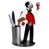 Desk Accessory Wine Steward Pen Holder