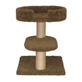23&quot; Two Tier Cat Tree with Lounger