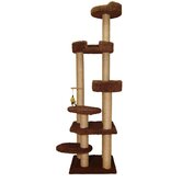 "79"" Cat Tower with Sky Lounger and Lookout"