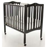 Portable Lightweight Folding 2-in-1 Convertible Crib