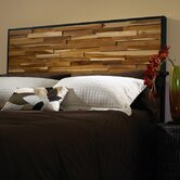Reclaimed Wood Panel Headboard