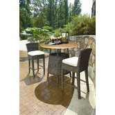 Outdoor Bay Harbor Side Bar Stool in Bark