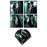 Harry Potter 7 Glass Print Coaster (Set of 4)