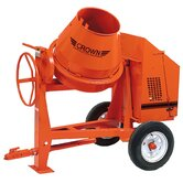 C9-CGH5 - 9 cu ft Concrete Mixer - 0.5 HP Honda w/ Optional Lighting Kit
