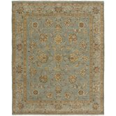 Elche Design Ice Blue, Hand-Knotted Rug