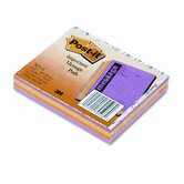 Post-It Super Sticky Super Sticky Message Pads, 4 50-Sheet Pads/Pack