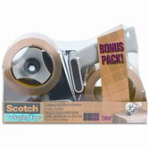 Scotch Packaging Tape Dispenser with 2 Rolls of Tape