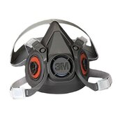 6000 Series Half Facepiece Respirators - small respirator facepiece only 21617