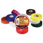 Scotch® Vinyl Electrical Color Coding Tapes 35 - 35 3/4x66 red vinyl color coding tape