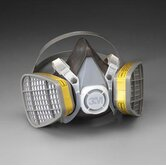 Organic Vapor/Acid Gas Respirator Assembly