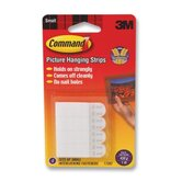 Command Picture Hanging Removable Interlocking Fasteners, 4 Set/Pack