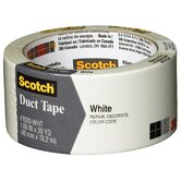1.88&quot; x 20 Yards Scotch White Duct Tape