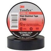 "MIXED SALES QTY - Temflex™ Vinyl Electrical Tape 1700 - 1700 3/4""x66' vinyl tape1.5"" core"