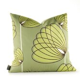 Aequorea Lotus Pillow in Grass and Lime