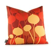 Aequorea Seedling Graphic Pillow in Scarlet