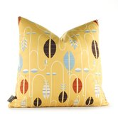 Aequorea Carnival Pillow in Sunflower