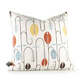 Aequorea Carnival Pillow in White and Cornflower