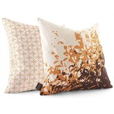 Foliage Throw Pillow in Sunshine