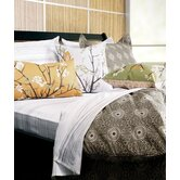 Rhythm Cotton Bedding Collection in Chocolate