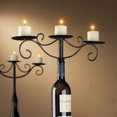 Wine Enthusiast Candle Holders