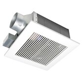 WhisperFit 80 CFM Low Profile Ceiling Mounted Fan - Energy Star