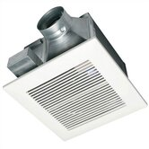 WhisperCeiling 150 CFM Ceiling Mounted Bathroom Fan - Energy Star Rated