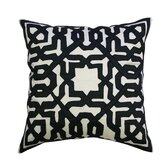Bold Geo Silk Pillow