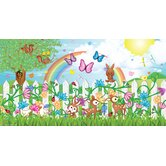 Personalized Canvas Butterfly Girl Wall Mural