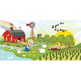 Personalized Canvas Farm Boy Wall Mural