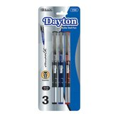 Dayton Rollerball Pen with Metal Clip (Set of 3)