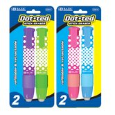 Dot.ted Retractable Stick Erasers (Set of 2)