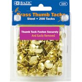 200 Ct.Thumb Tack Set